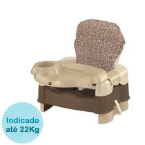 Cadeira De Alimentação Luxo 5 Estágios - Marrom Safet