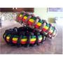 Pulseira Paracord Apito Sobrevivência Paracord 550 Rastafari