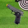 Pistola Airsoft Calibre 6,0 Mm G10 Spring Full Metal Galaxy