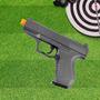 Pistola Airsoft Calibre 6,0 Mm G19 Spring Full Metal Galaxy