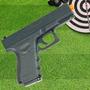 Pistola Airsoft Calibre 6,0 Mm G15 Spring Full Metal Galaxy