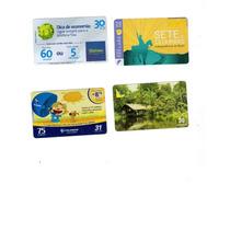 Cartões Telefônicos Lote De 50 Cartões Diversas Operadoras