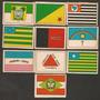 Coleção Com 10 Bandeiras Estados Brasileiros Descrição Verso