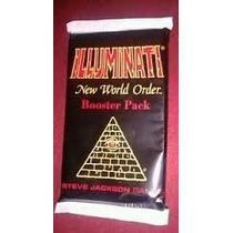 Illuminati New World Order Card Original Novo Lacrado Booste