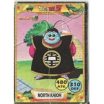 Cartinha Dragon Ball Z Card Senhor Kaio Carta Colecionável