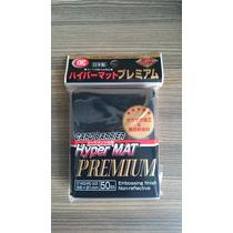 Kmc Hyper Mat Black/preto Shield Sleeve Magic The Gathering