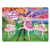 Barbie Quebra Cabeca Sapatilhas Magicas 100 Pcs - Mattel