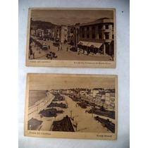 2 Cartões Postais Antigos Portugal Viana Do Castelo