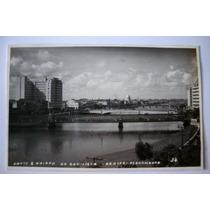 Cartão Postal Ponte Bairro Boa Vista Recife-pe