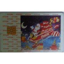 Cartão De Cred Citycard Edc. De Natal Coca Cola P/ Coleci