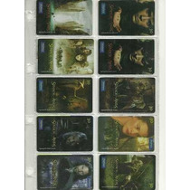 Cartão Telefonico Série O Senhor Dos Anéis 10 Cts Sp