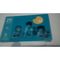 Cartão Telefônico Oi 25 + 5 Crianças