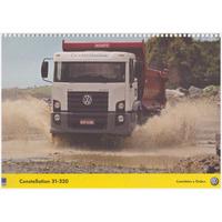 Pôster: Caminhão Volkswagen Constellation 31-320 / Ano: 2008
