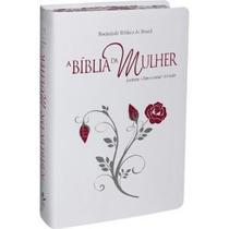 Bíblia Da Mulher Branca Grande - Letra Maior Sbb