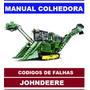 Manual Colhedora John Deere 3520 Codigos De Falhas Eletricas