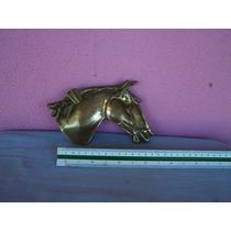 Antiga Escultura De Cavalo. Cavalo. Bronze.