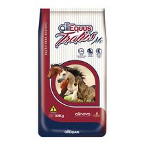 Ração Cavalos, Extrusada, Balanceada Mix 30kg - Frete Gratis