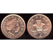 Moedas Raras Two Pence