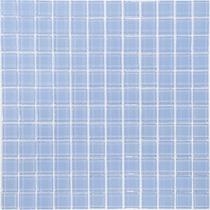 Pastilha Azul Claro De Vidro Cristal De Alto Brilho R$ 11,90