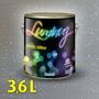 Verniz C/ Glitter Para Paredes 3,6 L Luminuz Cromanil- Prata