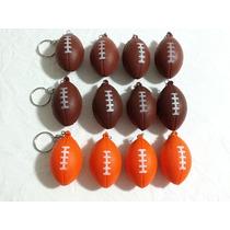 Chaveiro Bola De Futebol Americano (pacote Com 12 Pcs)