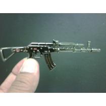 Chaveiro Miniatura Fuzil Ak-47 Em Metal