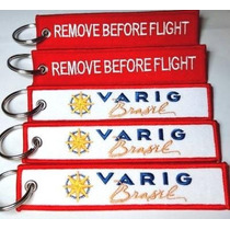 Remove Before Flight Varig - Pilotos Comissarias(os)