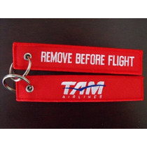Chaveiro Remove Before Flight / Tam - Pilotos Tripulantes