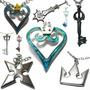 Colares Anime Kingdom Hearts - Sora Crown Cosplay Game Ps3