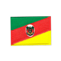 Bordado Termocolante Bandeira Do Rio Grande Do Sul