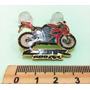 Broche Moto Cbr Banho De Ouro Botons Pins