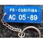 Chaveiro Antigo - Volks Motor Ltda - Curitiba - Pr - Ak3