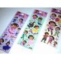 Dora - Kit Cartela Adesivo Stickers C/ 12 Cartelas