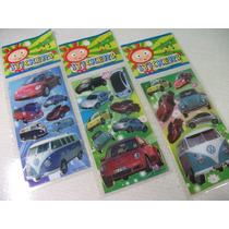 Carros Populares Kit Adesivo Stickers C/ 12 Cartelas