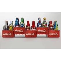 Coleção Completa Mini Garrafinhas Coca Cola Copa 2014