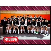 Novela Rebelde 2ª Temporada - 38 Dvds - Frete Grátis