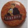 Tampinha Cerveja Saint Bier - Forquilhinha - Sc - A7p28