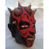 Máscara Dhart Maul (artesanal Em Látex)