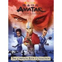 Dvds Avatar - A Lenda De Aang Completo 13 Dvds Frete Grátis