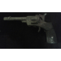 Pistola De Brinquedo Farroeste Metal Antiga Rara Revolver
