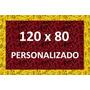 Tapete Capacho Personalizado Com Sua Logomarca Em 120 X 80