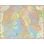 Mapa Zona Sul De São Paulo - 120 X 90cm.