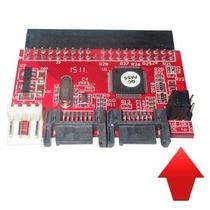 Conversor Adaptador De Porta Ide (placa Mãe) P/ Sata Hd Cd