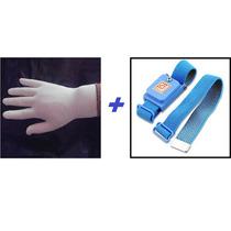 Kit Esd Luva Anti Estática + Pulseira Anti Estática Sem Fio
