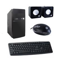 Kit Gabinete C/ Fonte 200w, Mouse Óptico, Teclado, Cx Som Nf