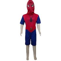 Fantasia Infantil Estilo Homem Aranha