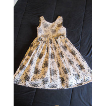 Lindo Vestido De Festa Menina - Tam. 6