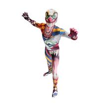 Halloween Clown Morphsuit - Monster Terno Crianças M Corpo