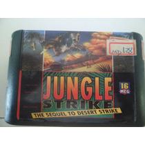 Cartucho Mega Drive Jungle Strike Sequel To Desert Strike+4