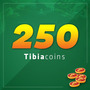 Tibia 250 Coins Entrega Imediata Todos Servers Muito Barato